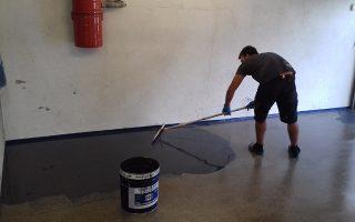 Beschichtung Garage