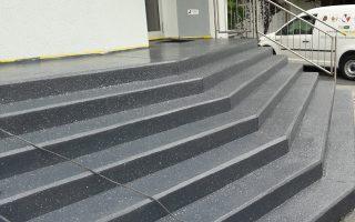 Beschichtung Treppe